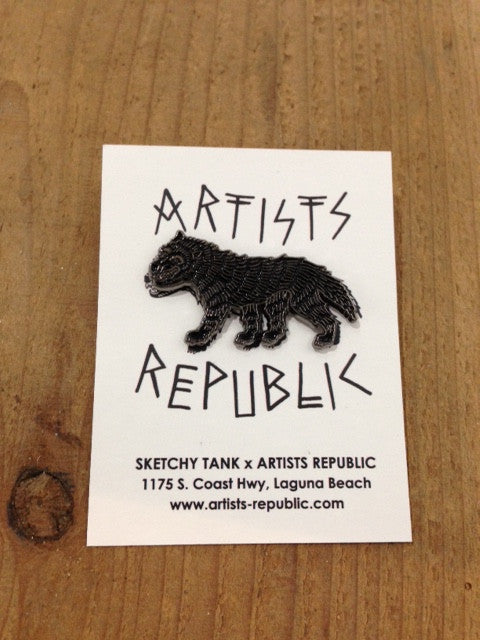 Artists Republic x Sketchy Tank : Limited Edition Pins (price includes shipping)