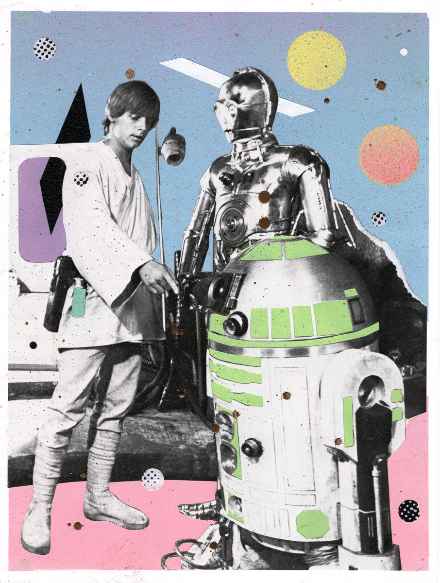 "Michael Ziobrowski - ""Luke & The Droids/Pastel Life"""