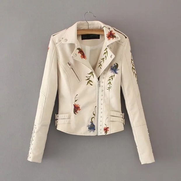 Women's Funky Motorcycle Jacket - NSQUARE