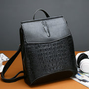 Retro Leather Backpack Bag - NSQUARE