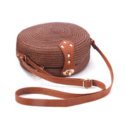 Rattan Wicker Weave Crossbody - NSQUARE