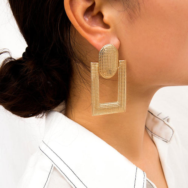 Vintage Geometric Earrings - NSQUARE