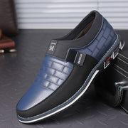 Leather Men Breathable Casual Shoes - NSQUARE