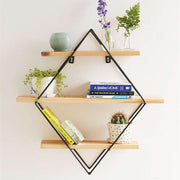 Wooden Retro Storage Rack - NSQUARE