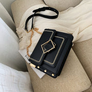 Cross-body Bag with Chain - NSQUARE