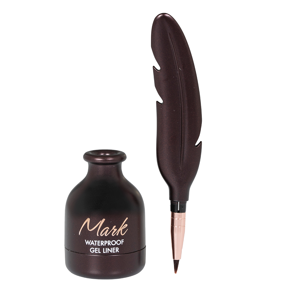 MARK WATERPROOF GEL LINER 02 BROWN