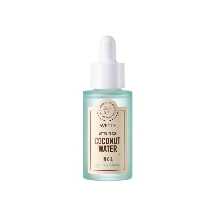 Aceite acuoso de coco avette water flash