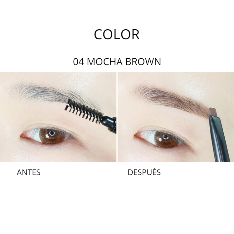 DELINEADOR DE CEJAS EASY TOUCH 04 MOCHA BROWN