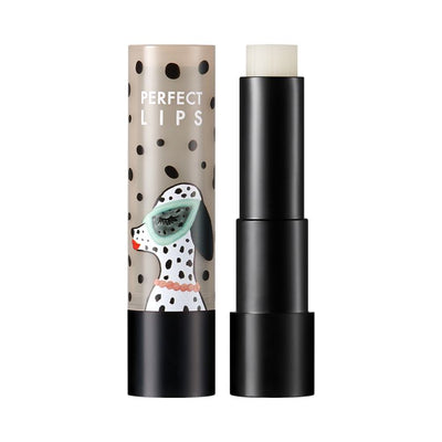 BOUFFANTS AND BROKEN HEARTS - PERFECT LIPS GLOW CARE STICK 01 BAD DALMATIAN
