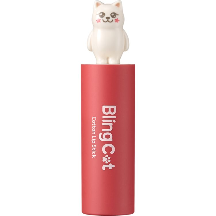 BLING CAT COTTON LIPSTICK 04 LITTLE CORAL