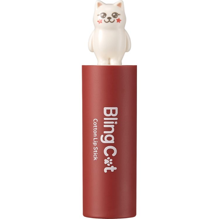 BLING CAT COTTON LIPSTICK 09 MAROON MOOD