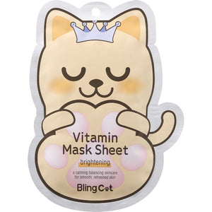 BLING CAT VITAMIN MASK SHEET  _ BRIGHTEN