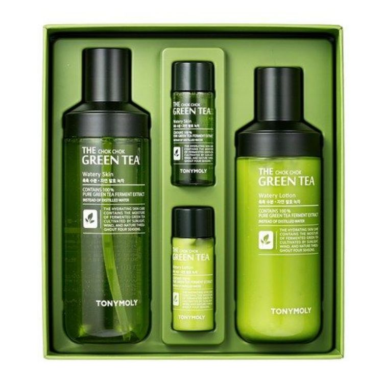 THE CHOK CHOK GREEN TEA SKIN CARE SET