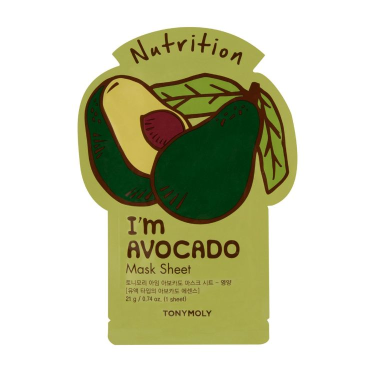 IM AVOCADO MASK SHEET NUTRITION