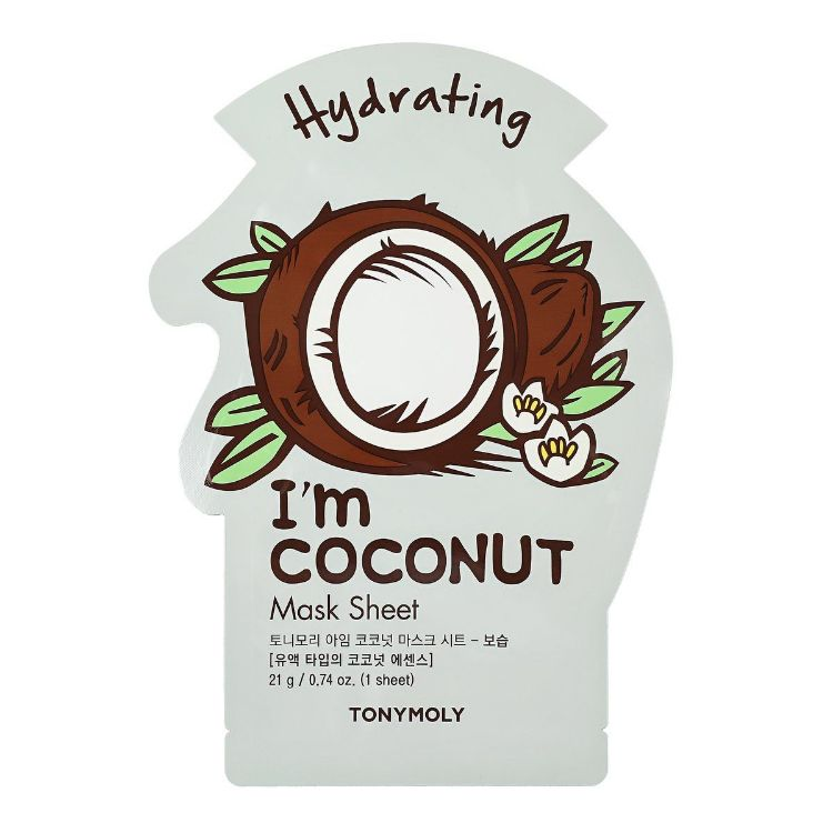 I AM COCONUT MASK SHEET