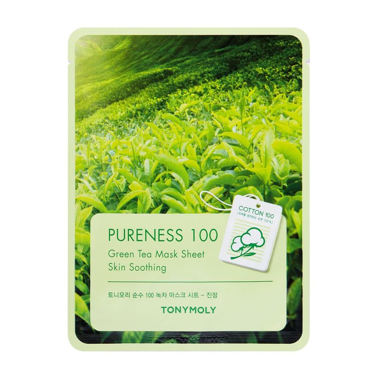 PURENESS 100 GREENTEA MASK SHEET