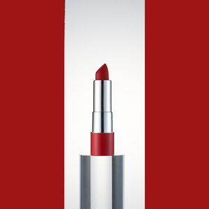 RED OF THE DAY - PERFECT LIPS MONO CHROME LIPSTICK 02 CRAZY RED
