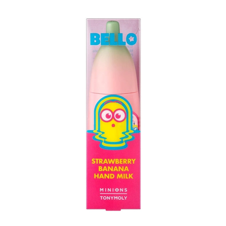 MINIONS STRAWBERRY BANANA HAND MILK