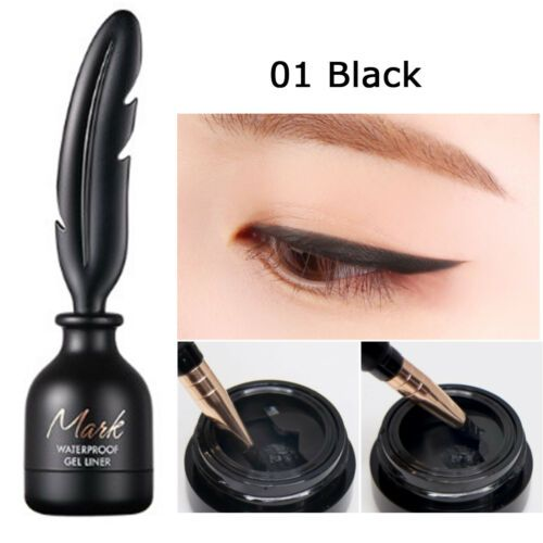 MARK WATERPROOF GEL LINER 01 BLACK