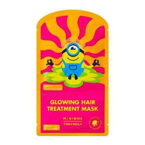 MINIONS GLOWING HAIR TREATMENT MASK