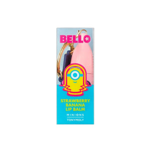 MINIONS STRAWBERRY BANANA LIP BALM