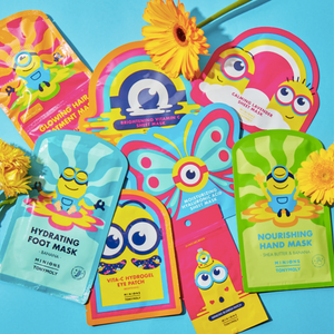 MINIONS MOISTURIZING HYALURONIC ACID SHEET MASK