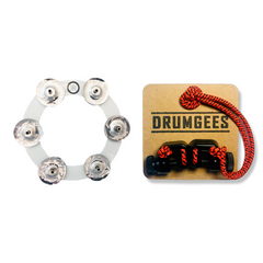 DRUMGEES - Rim + Bling Ring - Steel + Octopus