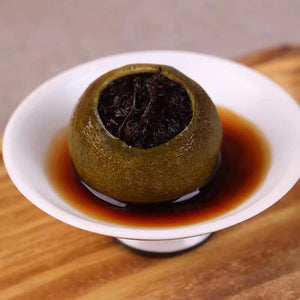 2012 Year Small Authentic Ripened Puer Citrus