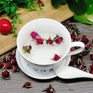 Chinese Cleansing Yunan Dried Rose Flower Herbal Tea - sunrise-tea
