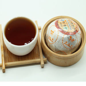 Premium Dried Mandrin Green Orange Puerh Ripe Tea 8685 - sunrise-tea