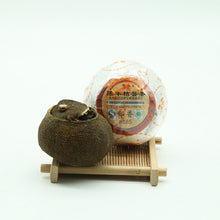 Load image into Gallery viewer, Premium Dried Mandrin Green Orange Puerh Ripe Tea 8685 - sunrise-tea