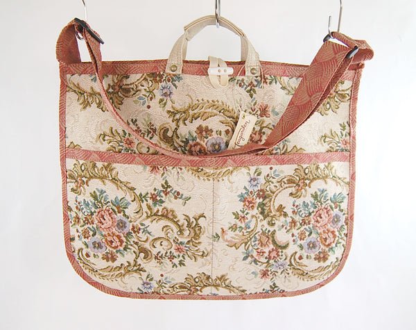 Cross Body Satchel 'Vintage Rose'