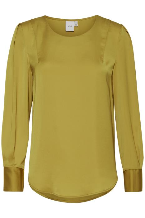 Jandra Long Sleeve Top - Golden Palm