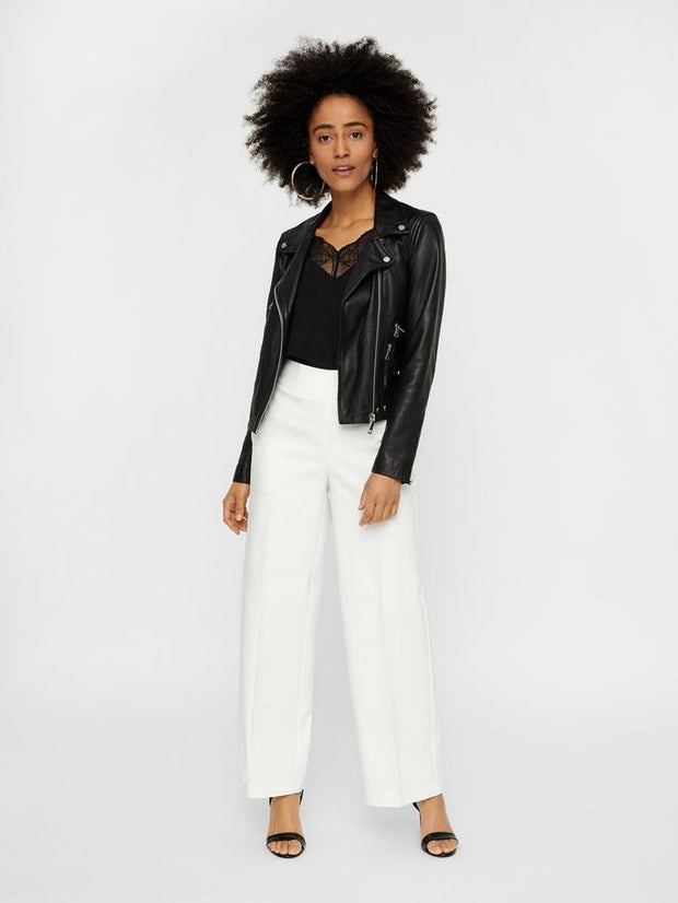 Roro High Waisted Wide Trousers