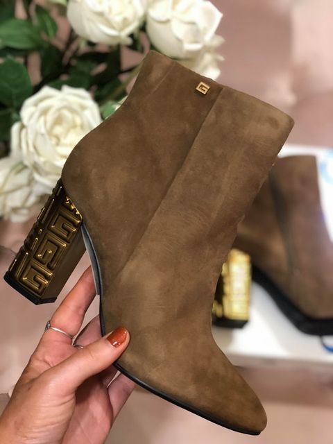 Guess Lariah Ankle Boots - Light Brown