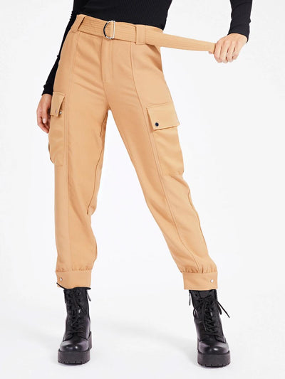 Guess Presley Trousers - Light Caramel