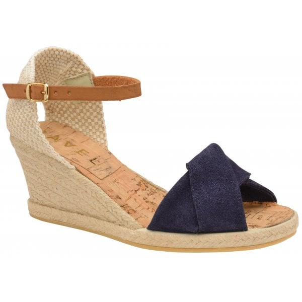 Ravel Palmer Wedges - Navy
