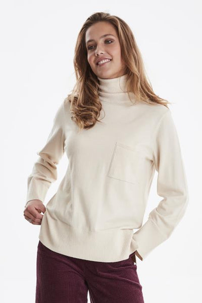 Kava Knitted Pullover - Tapioca