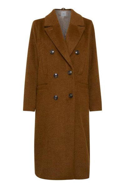 Kessie Coat - Mocha Bisque