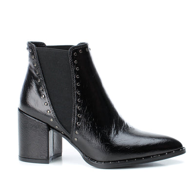 Pre-Order Black PU Ankle Boots