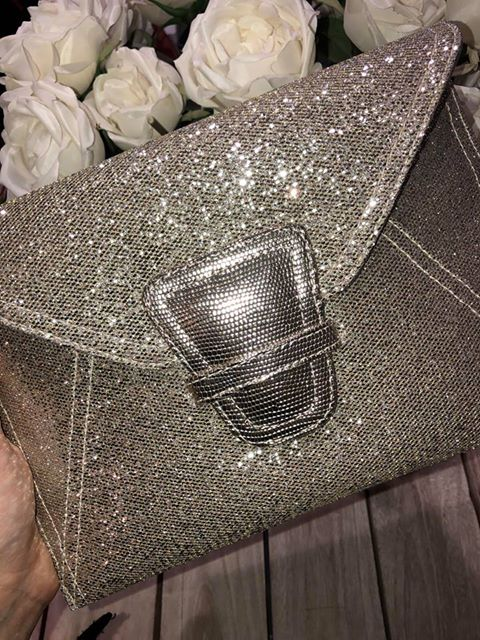 Liberty - Moet Glitter Clutch