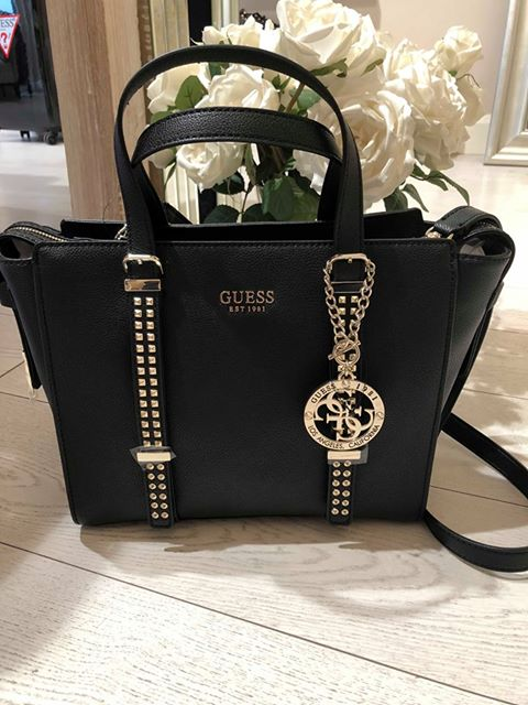 Guess Eileen Satchel - Black