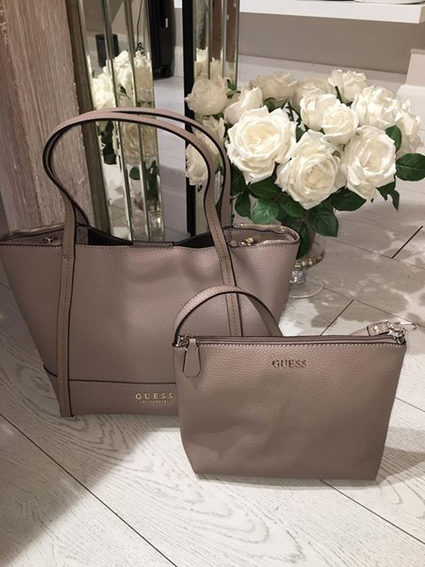 Guess Heidi Small Tote - Taupe