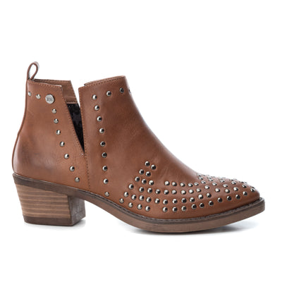 Camel Stud Detail Ankle Boot