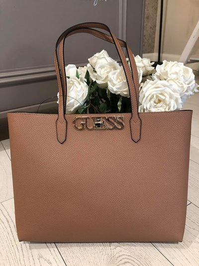 Guess Uptown Chic Barcelona Tote - Tan