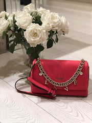 Guess Conner Shoulder Bag - Hibiscus