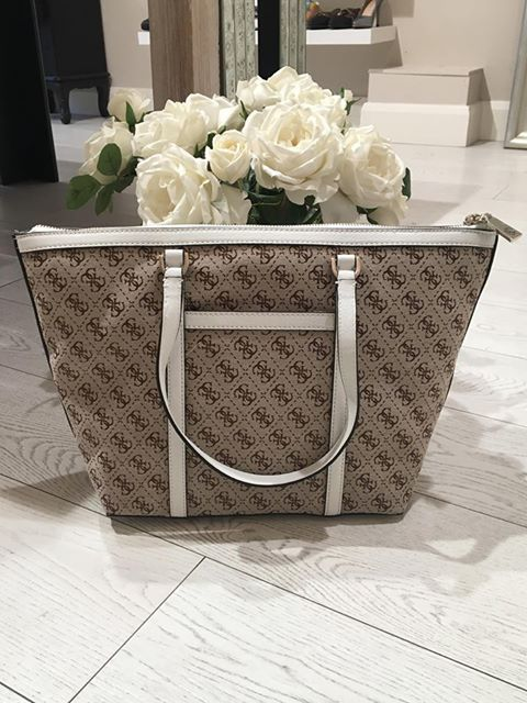 Guess Vintage Tote - White