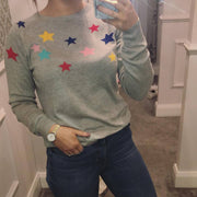 Jules Coloured Stars Sweater