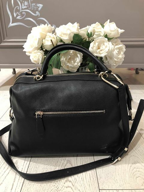 Guess Cary Satchel - Black