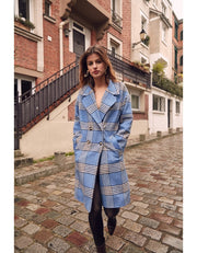 Blue Tile Coat
